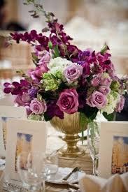 Purple Flowers Centerpieces by 25 Best Wedding Flower Centerpieces Ideas On Pinterest Wedding