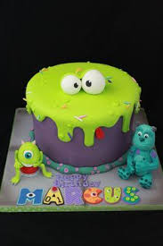 monsters inc baby shower cake brayden u0027s 1st birthday