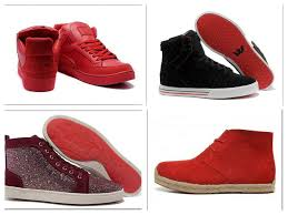 trends of red bottom shoes 2015