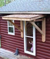 Door Awning Kits Front Porch Overhang Ideas Exterior Modern Door Wreath Entry Doors