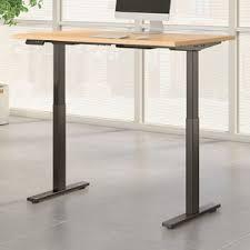 Height Adjustable Standing Desk by Metal Standing Desks You U0027ll Love Wayfair