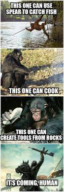 Planet Of The Apes Meme - dawn of the planet of the apes for real fools dhtg