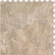 shop perfection floor tile 6 20 5 in x 20 5 in sandstone