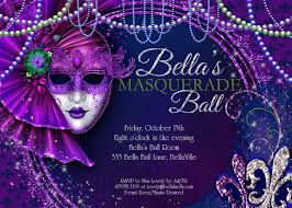 fancy mardi gras fancy mardi gras masquerade party invitation card design with