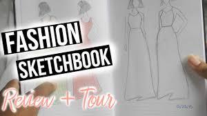 fashion design sketch book review u0026 tour fashion sketchbook