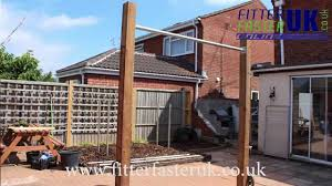 how to build a pull up bar in your garden youtube