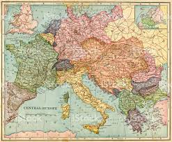 Map Of Southeastern Europe by Central Europe Map 1896 Stock Photo 492962887 Istock
