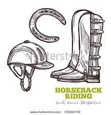 stirrups helmet stock images royalty free images u0026 vectors