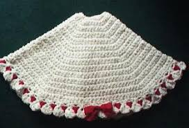 Ideas For Christmas Tree Skirts by Quick U0027n Easy Christmas Tree Skirt Crochet Tree Skirts