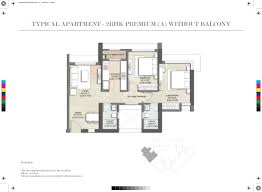 2bhk House Plans Kalpataru Paramount At Thane Mumbai Price Plans Reviews