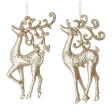 and deer ornaments the mouse