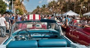 art deco weekend ocean drive festivals history miami news