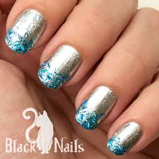 easy nail art glitter black cat nails s gallery on nailpolis nailpolis museum of nail art