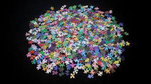 color spectrum puzzle 1000 colors a 1000 piece jigsaw puzzle of the cmyk color gamut