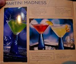 apple martini bar royal caribbean drink lists prices menus and much more