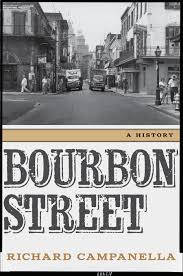 Bourbon Street New Orleans Map by Lsu Press Books Bourbon Street