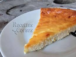 cuisine cor馥nne recettes fiadone corse au citron recette fiadone citron et brocciu brousse