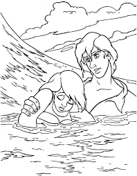 baby mermaid coloring pages color me mother and baby mermaid