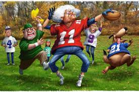 27 more of thanksgiving touch football wsj