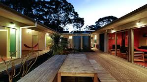 home courtyard courtyard home view in gallery small vacation home wraps around