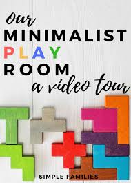 our minimalist playroom video tour simple families