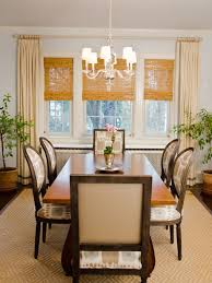 dining room window treatment dining room window treatments ideas