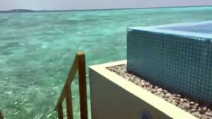 velassaru over water bungalow with pool in the maldives youtube