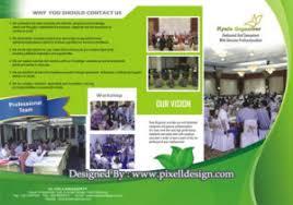 contoh desain brosur hotel contoh brosur flyer leaflet desain paling menarik