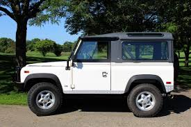 white land rover defender 90 1997 land rover defender 90 for sale 2000446 hemmings motor news