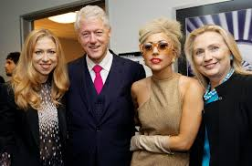how the clinton foundation works with the entertainment world to