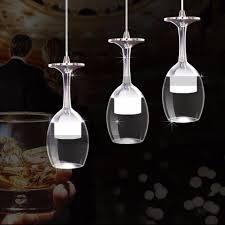 Awesome Wine Glasses Wine Glass Pendant Lights Tequestadrum Com