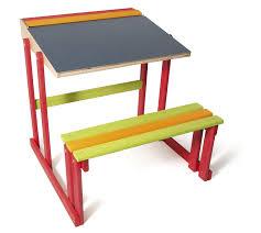 bureau d ecolier jeujura 8860 loisir créatif bureau d ecolier en bois amazon fr