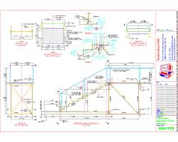 Platform Stairs Design Autocad 2006 Structural Steel Detailing Samples