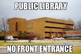 Meme Library - library no front um meme the michigan journal