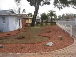 Gravel Backyard Ideas Backyard Remodel Phoenix Home Outdoor Decoration