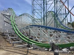 Six Flags Locations Twisted Colossus Coaster Stop