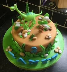 the dinosaur birthday cake bizcochos dinosaur