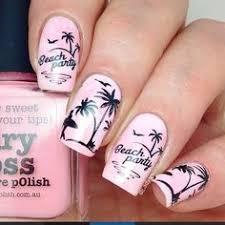 palm tree white nails for maternity inspiration shop here u003e u003e http