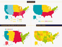 Time Zone Map Tennessee by Us Map