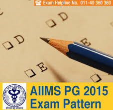 paper pattern of aiims aiims pg 2015 exam pattern
