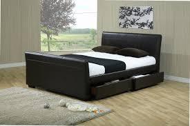 Queen Size Sleigh Bed Frame Bed Frames Queen Beds With Storage Queen Size Sleigh Beds Cherry