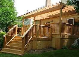 patio u0026 pergola very cool deck pergola awesome attached pergola