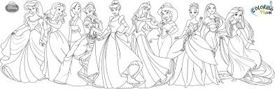 coloring pages princess projects inspiration disney coloring pages princess coloring of