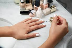 how to keep pale manicures looking clean popsugar beauty