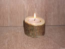 25 best ideas about wood candle holders on pinterest log