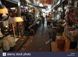 Home Decor Shopping In Bangkok | walkway near a home decor shop at chatuchak weekend market in