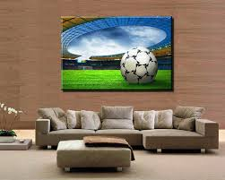 canvas painting for home decoration best football modern home decoration wall painting canvas picture
