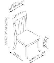 Fine Dining Room Chairs by Other Fine Dining Room Chair Dimensions Inside Other Stunning