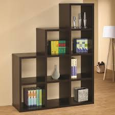 where can you buy stacked cube design room divider espresso finish