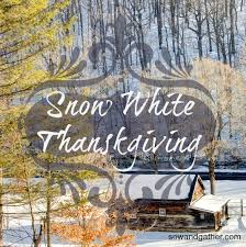 snow white thanksgiving we are washed as white as snow sow